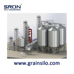 Economical Silo Cost for Grain Storage, All-Round Safety