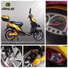 2016 Cheap small electric scooter moped electric motorcycle with pedals