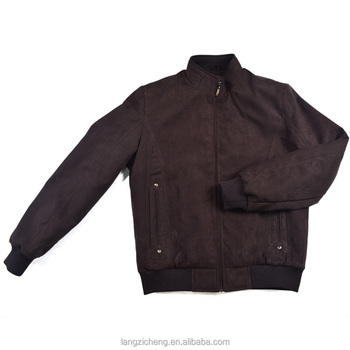 low priced b3194 d5182 Coffee Brown Slim Fit Uomo In Pelle Scamosciata Bomber Giacca Uomo Giacca  Invernale - Buy Uomo Slim Fit Giacca,Giacca Invernale,Giacca Uomo Giacca Di  ...