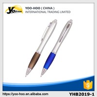 Eco-friendly plastic ball point pen for christmas decorations