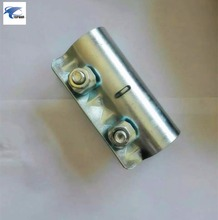 Scaffolding clamp galvanized white color pressed sleeve coupler