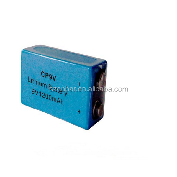 CP9V 1200mAh 6v battery flat lithium ion battery direct from factory