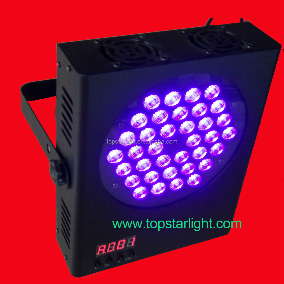 Guangzhou manufacturer supply wholesale price for UV flat led par/stage par light 36*3W/purple par led