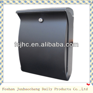 Foshan JHC-2001 Lockable ABS Plastic Storage Mailbox /Colorful Plastic Letter Box/Mail box