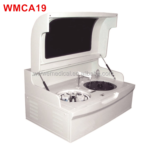WMCA19 fully automatic biochemistry analyzer/Biochemical Analysis System Type fully automated clinical chemistry analyzer