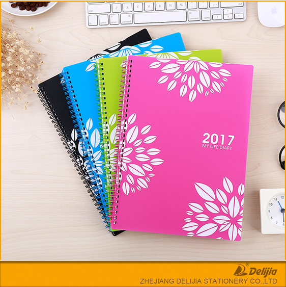High quality Factory price new design beautiful 5 subject notebook