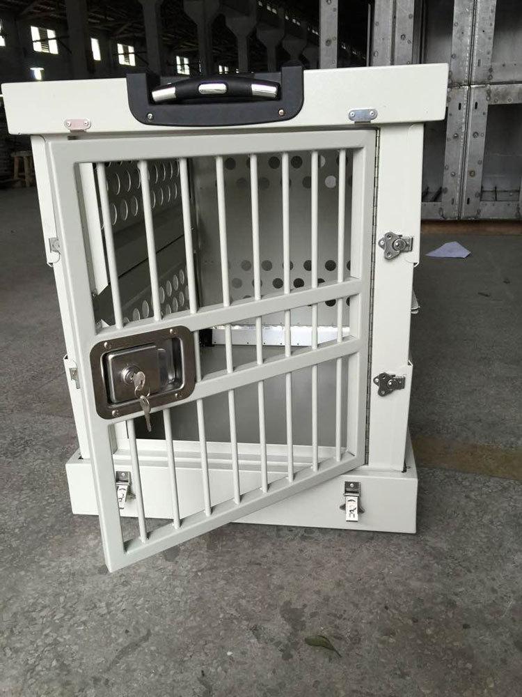 2015 nouvelle mode chien cage pliable en alliage d 39 aluminium chien cage cage caisse. Black Bedroom Furniture Sets. Home Design Ideas
