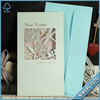 China Professional Supplier 123 Birthday Wishes Card3d Greeting