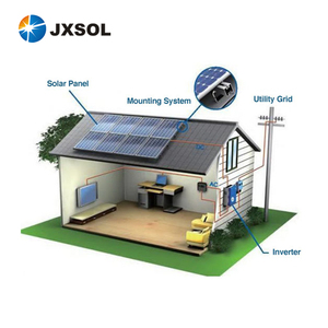Home rooftop system 1kw 3kw 5kw 10kw pv power solar panel