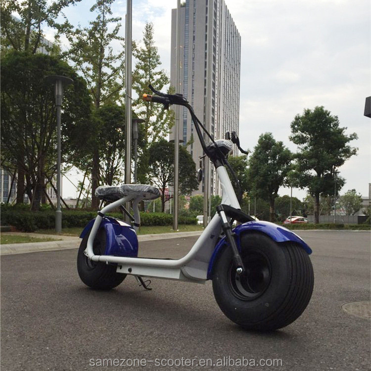 CE approved lithium battery chopper street legal electric scooters for adults