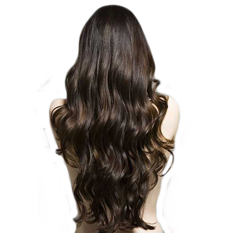 Grade 9A With Closure Human Hair silky Straight Hair Brazilian hair Bundles With Lace Frontal Closure, Natural color #1b #2 #4 ombre
