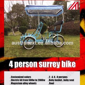 2 Person Bike // 4 Person Bike // 6 Person Bike // 8 Person Bike // Surrey  Bike Trailer - Buy Electric Surrey Bike 4 Person 4 Wheel Surry Bike 4 Wheel