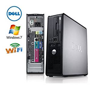 Dell 780 Optiplex SFF ,WIFI INTEL CORE 2 QUAD 2.4GHZ, 500 HDD 4GB DVD/CD RW, Dual Monitor Hook Up Windows 7 Professional 64 BIT With Restore CD