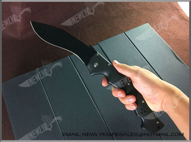 Special Design Stainless Steel Blade Carbon Handle Pocket Knife
