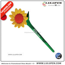 Customized Sunflower Novelty Pen (T331823) Logo Novelty Pens
