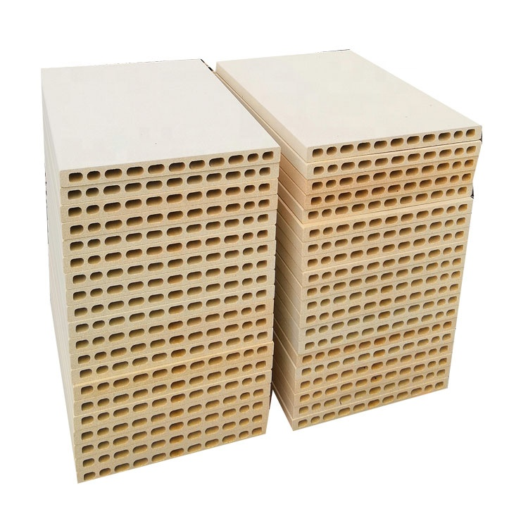 Factory price refractory kiln furniture cordierite mullite extruded batts for ceramic tunnel kiln