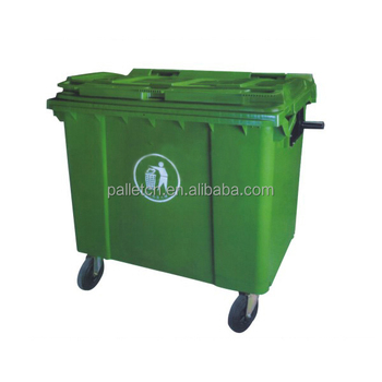 factory sale plastic outdoor waste bin price