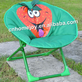 Frog Design Child Moon Chair, Folding Moon Chair, Moon Chairs For Kids