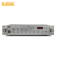 Laix PA-100 Pa Ampli 2SC5198/2SA1941*2 100W 4OHM 4 Áreas Profissionais Powered PA Public Address <span class=keywords><strong>Amplificador</strong></span> controle independente
