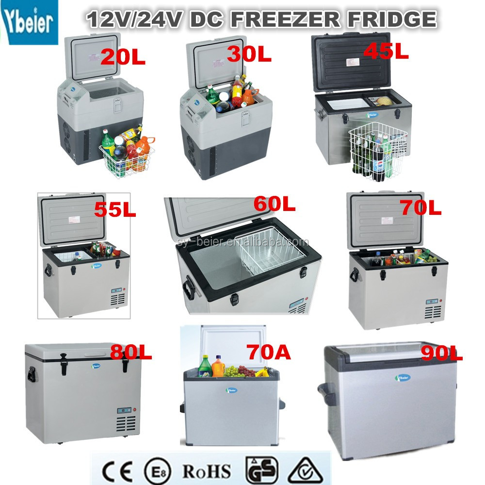 Portable mobile fridge car freezer dc fridge freezer