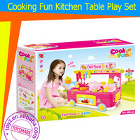 TOYZ Multifunction Cooking fun Fast food bus game set lights and music