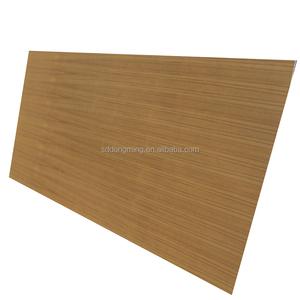 Plywood To Tanzania Teak Veneered