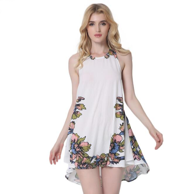 zm52783a hot sale ladies beach ladies loose dress fashion summer white dress