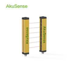 Safety light curtain for security application