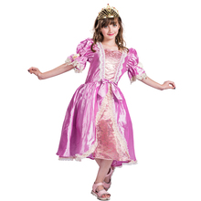 Kids Girls Halloween Carnival Victorian Edwardian Costume Fancy Dress
