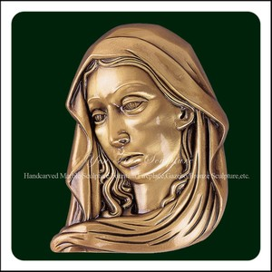 Wholesale Maria Bronze Wall Relief Statue