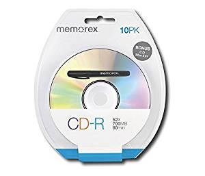 CD-R80 10 Pack Blister Print (04724) -