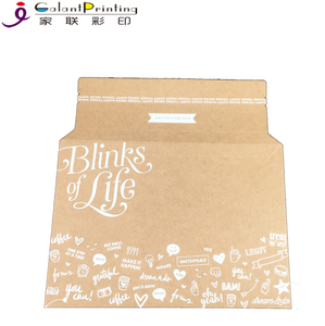 customized recycled cardboard expandable kraft paper envelope Cd Dvd Cardboard Mailers