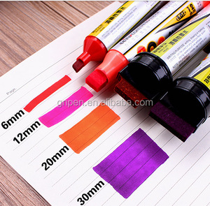 Factory direct selling 6mm Poster Pen Art Advertising Markers