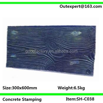 Concrete Stamp Mold Flex Sh C038 Moq 6 Pcs Per Item Buy