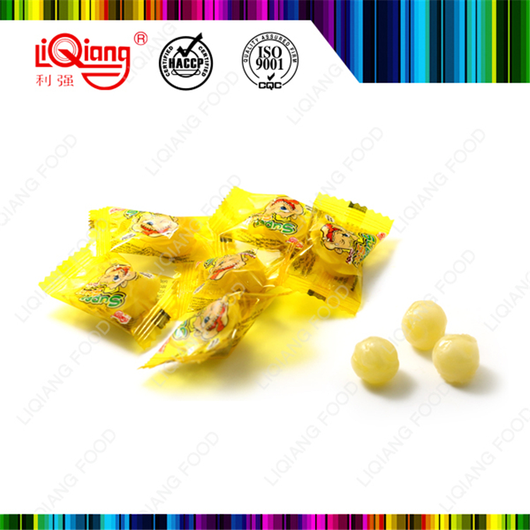 15g Lemon with sugar hard candy