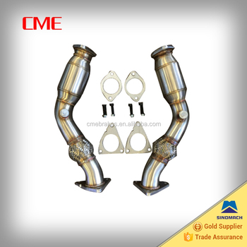 Manifold For 370z G37 Vq37hr Vq35hr 350z Test Pipes Anti-reversion Chamber  - Buy Manifold,Downpipe,Turbo Manifold Product on Alibaba com