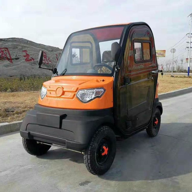 High Speed Small Body electric scooter enclosed 4 wheel car for sale with cheap price