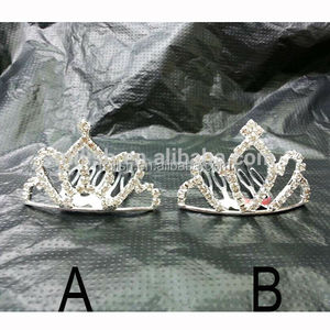 Frozen Queen Elsa mini small headpiece Tiara crown MCW-0131