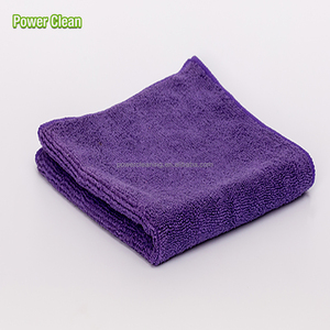 Absorbent Terry Microfiber Car Cleaning Cloth 40x40 Wholesale Cleaning Cloth