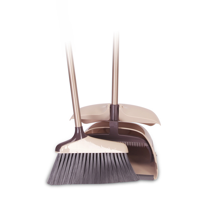 New Arrival Wind-proof Broom And Dustpan Set For House Hold And Lobby - Buy  Floor Brooms And Dustpan,Retractable Broom,Dustpan And Brush Set For Home