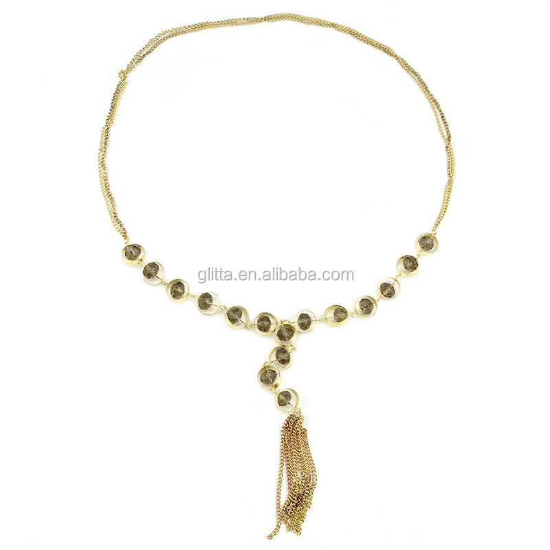 thusshi light product gold necklace water weight
