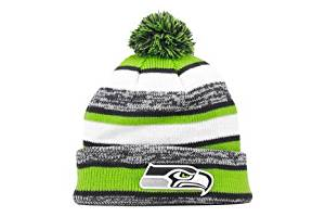 fd1c627de24 Get Quotations · Seattle Seahawks Official NFL 2014 On Field Sport Knit Cap  Winter Hat   Toque