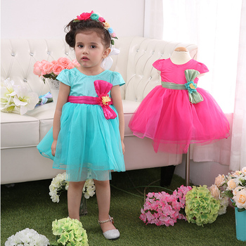 c6790511f321 2019 свадебное турецкое платье, прекрасные пышные красивые платья для  детей, один год Детские вечерние