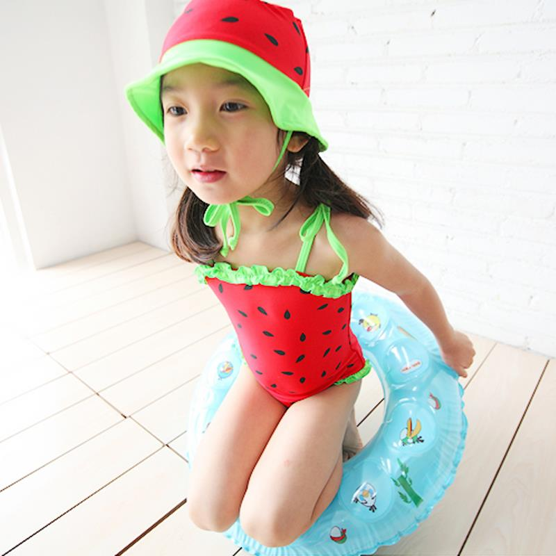 9c939cb10d380 Get Quotations · Biquini Infantil Hot Sale Free Shipping New 2014 Child  Swimwear Female One Piece Of Watermelon Girl