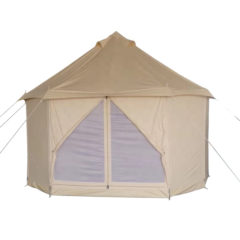 Manufactory Comfortabele Outdoor Pop-Up Canvas Strand Tent Glamping Tent