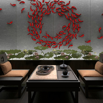 Wonderful DIY 3D Fish Wall Stickers Art Decal PVC Fishes Home Decor
