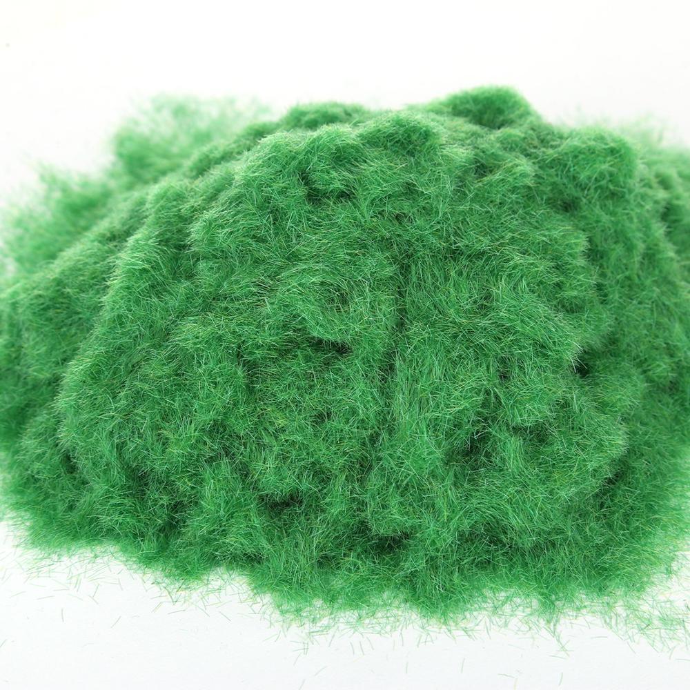 30 г искусственный порошок травы DIY железнодорожная модель песок стол Модель Декор-бледно-зеленый