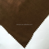 2015 new product 100% polyester synthetic suede fabric