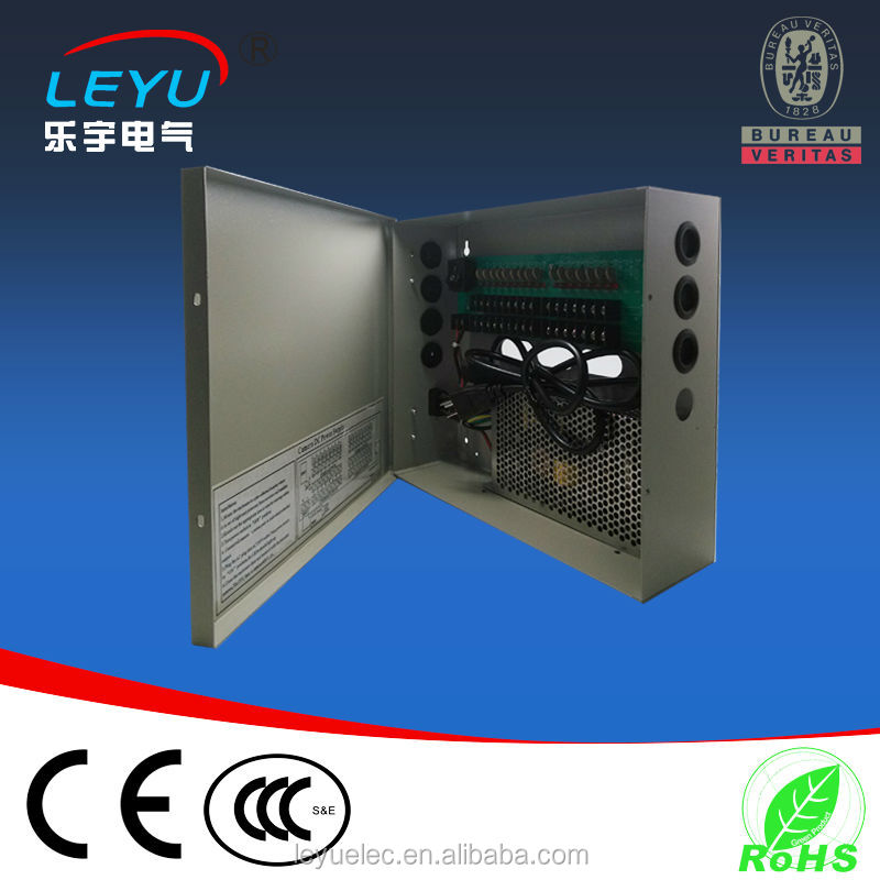 2012 New Arrival 12V power supply for cctv camera 10A 9CH 120W ptc fuse cctv power supply