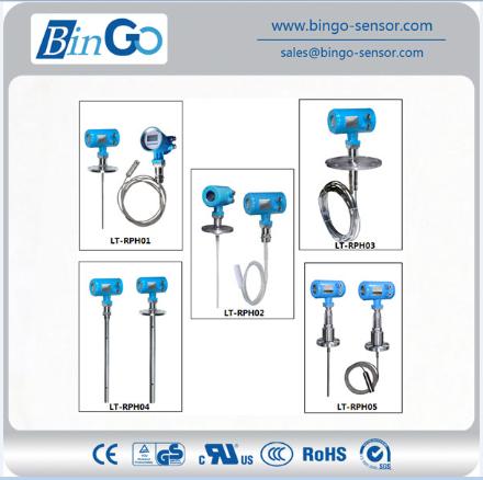 Guided Wave Rod Type Ip68 Radar Level Transmitter For Liquid With Flange  Connection - Buy Level Sensor,Level Transmitter,Measurement Lt-rg01 China